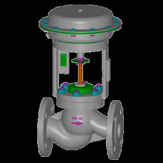 Клапан серии UNIWORLD 2100 AR