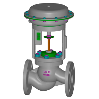 Клапан серии UNIWORLD 2100 DE