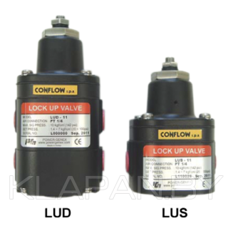 Клапан блокировки воздуха тип LUS/LUD
