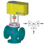 Регулирующий клапан серии UNIWORLD 2600 EPR