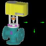 Регулирующий клапан серии UNIWORLD 2700 EPR